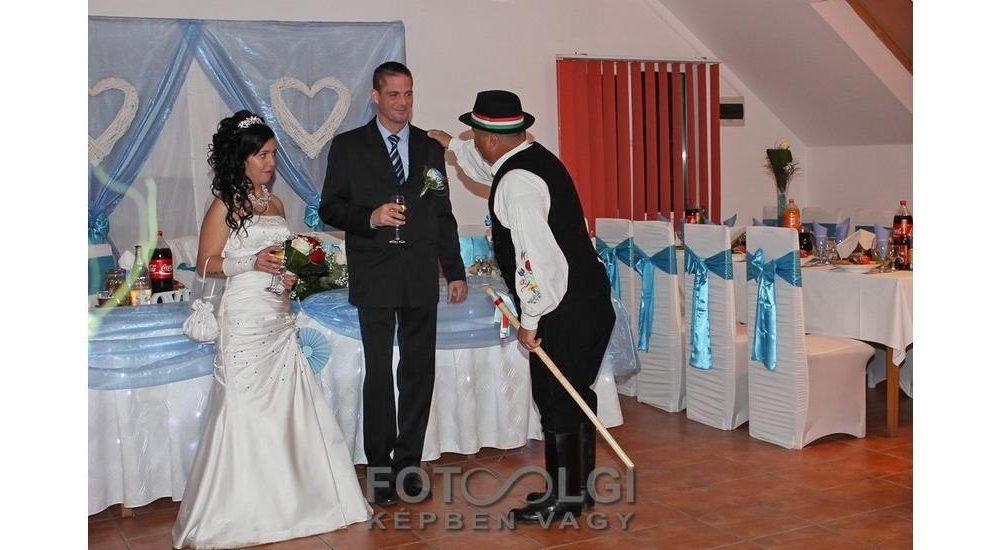 Kinga és Tamás esküvője