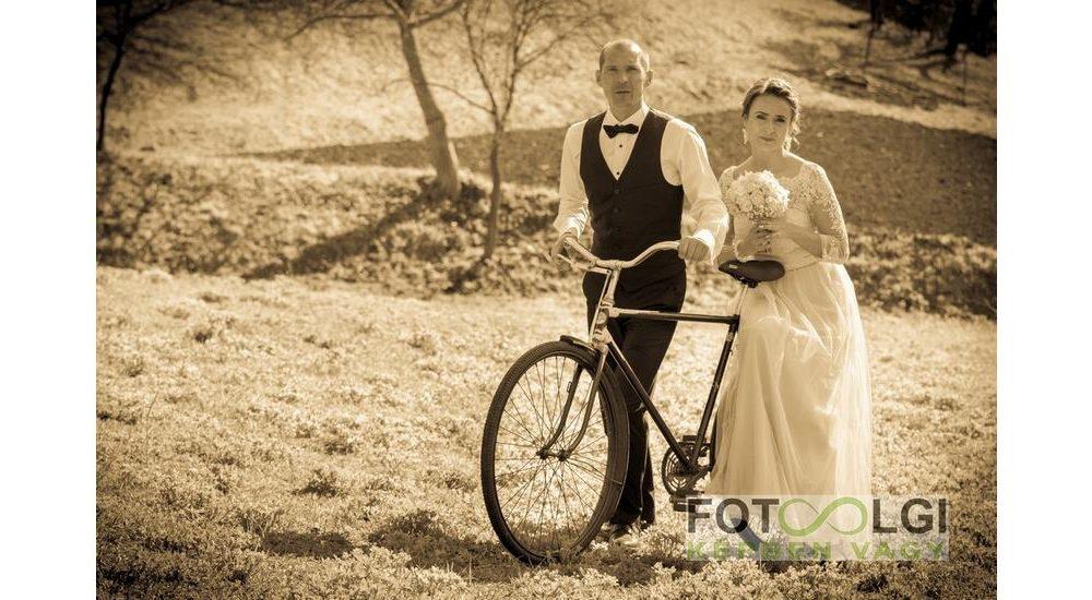Karola és Tibor esküvője