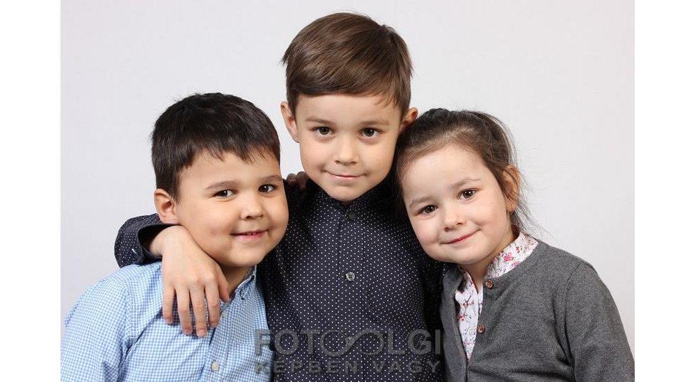 Gyerekek és családi fotók